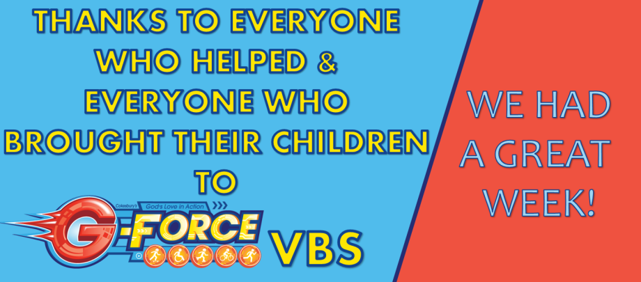 VBS THANKS